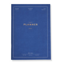 'Anytime' Undated monthly planner