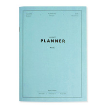 'Anytime' Undated weekly planner